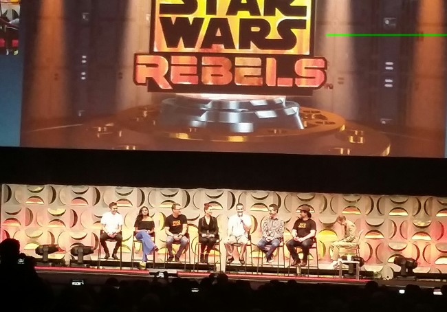 Star Wars Rebels Panel