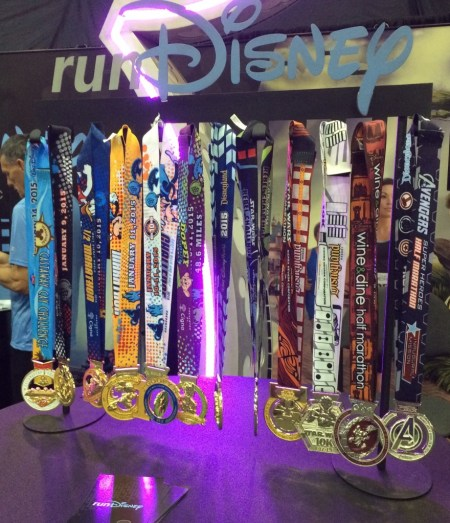 Behold the glorious runDisney medals.
