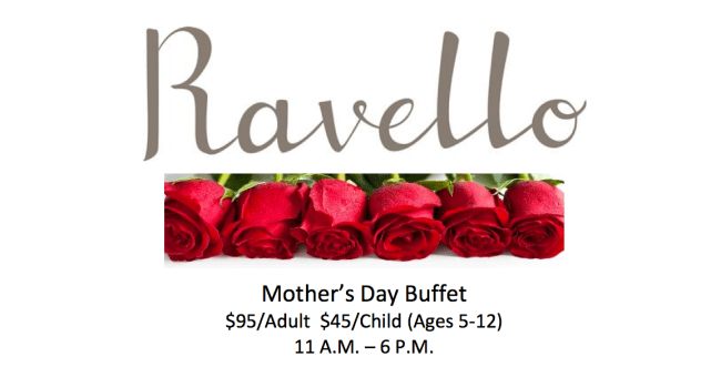 Ravello Mother's Day Buffet