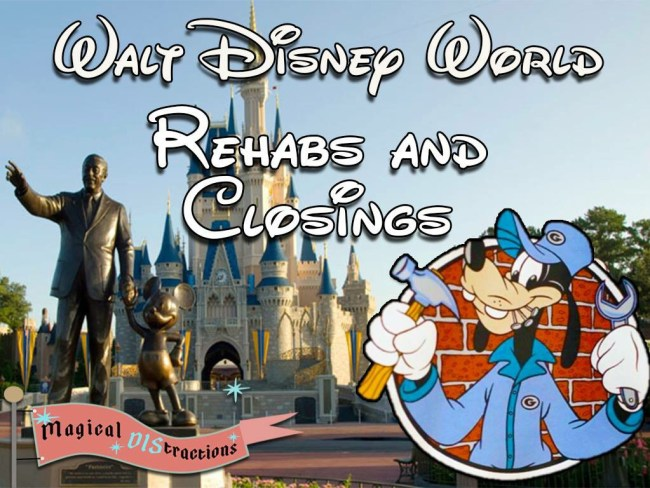 Walt Disney World Refurbishments