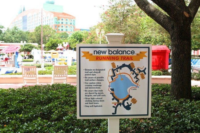 New Balance Running Trail Sign-Picture by Anne Fitzgerald