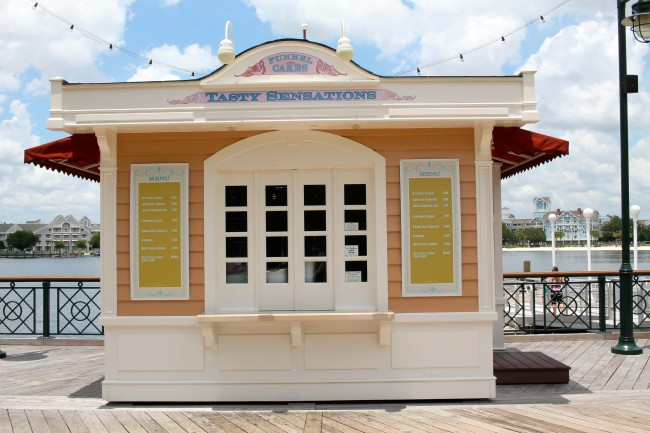 Disney's BoardWalk Inn and Villas, Dining, Tasty Sensations Funnel Cakes