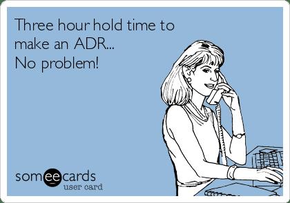 ADR Funny