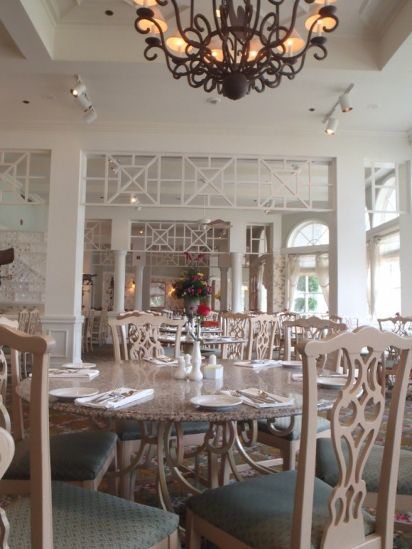 Grand Floridian Cafe-Picture by Lisa McBride