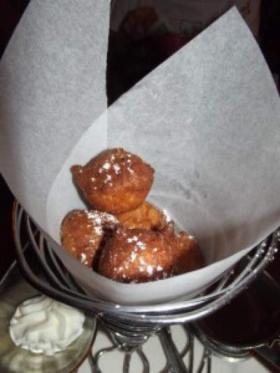 Zeppole at Via Napoli-Picture by Lisa McBride