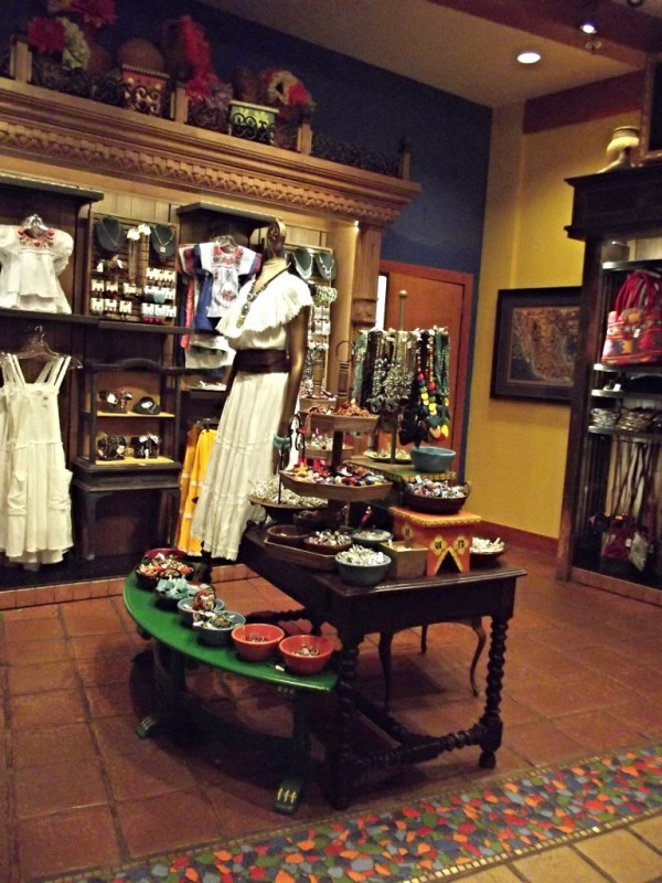 Merchandise for sale in the Mexico Pavilion at Epcot-Picture by Lisa McBride