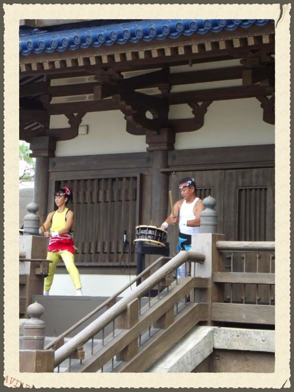 Matsuriza Drummers in Japan-Picture by Lisa McBride