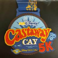 The Best Way to Burn Off those Cruise Calories- Run a 5K in Castaway Cay