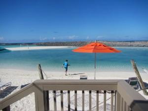 Castaway Cay cabana view