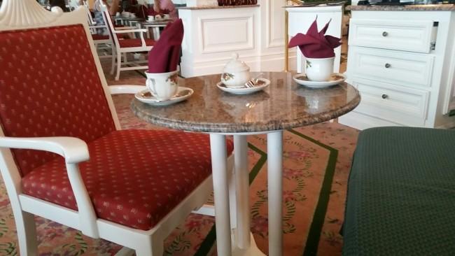 Tea at the Garden View Tea Room