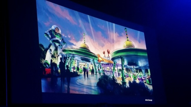 Image captured by Renee V at the D23 Expo.