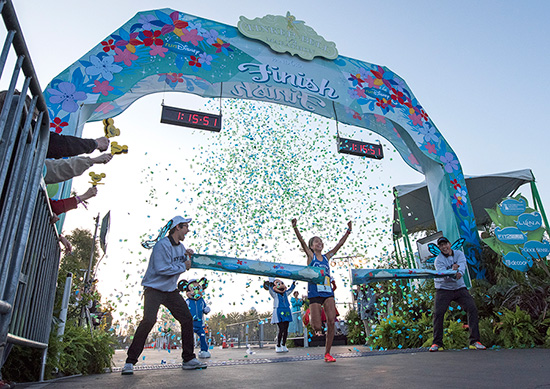 Lenore Moreno crushed a race record at the 2015 Tinker Bell Half Marathon Photo courtesy of Disney Parks Blog