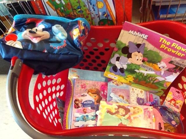 Target Dollar Spot Disney Items