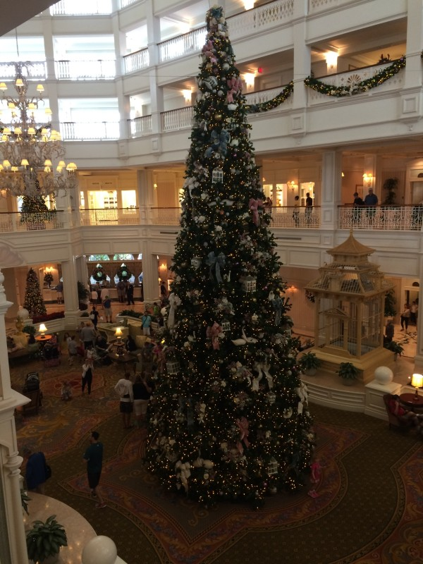 Grand Floridian Resort & Spa Christmas tree