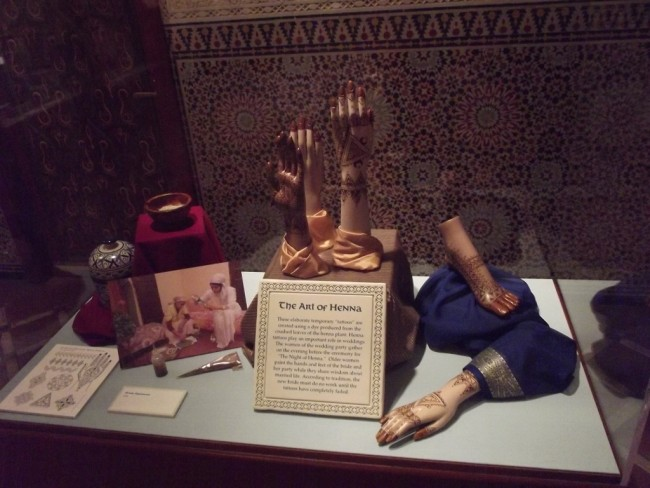 Moroccan Style Exhibit in Epcot-Picture by Lisa McBride