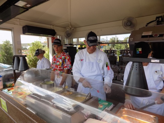Epcot Food & Wine 2015,