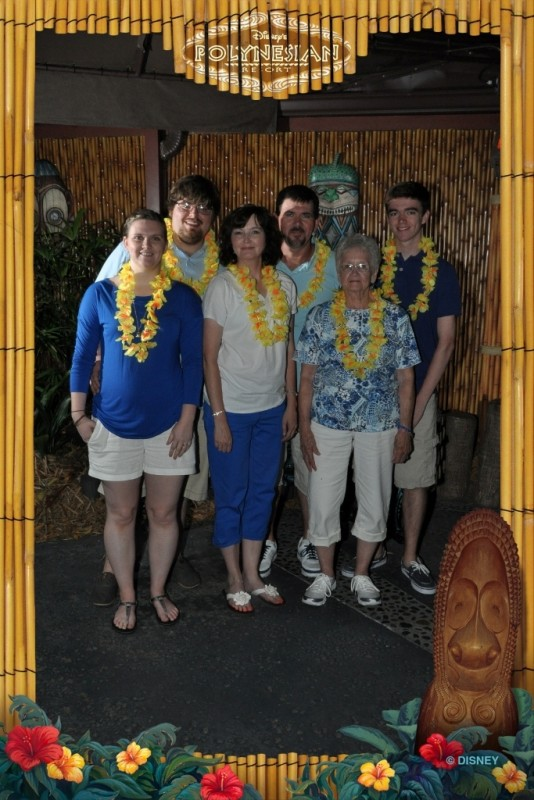 Traveling with Seniors-Disney PhotoPass Picture