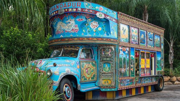Anandapur Ice Cream Truck-Photo Credit Disney