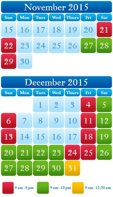 SeaWorld's Christmas Celebration Calendar-Photo Credit SeaWorld