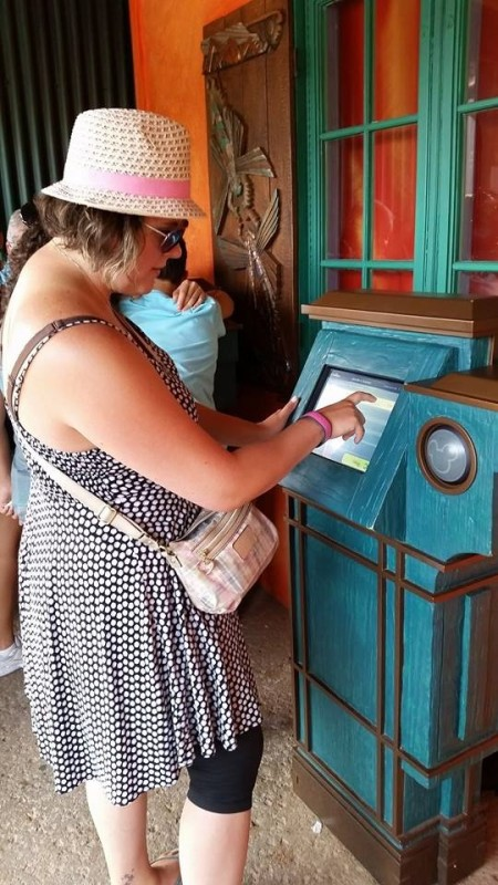 FastPass+ Kiosk at Animal Kingdom