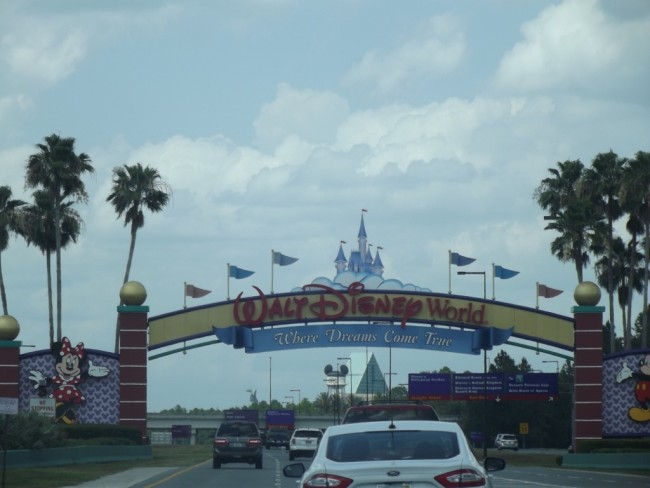 Walt Disney World Resort Entrance Sign-Photo by Lisa McBride