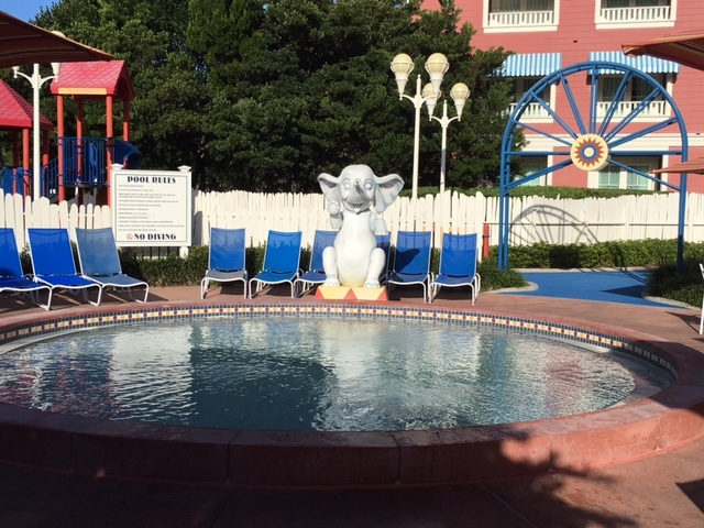 The Children's pool at the BoardWalk Villas
