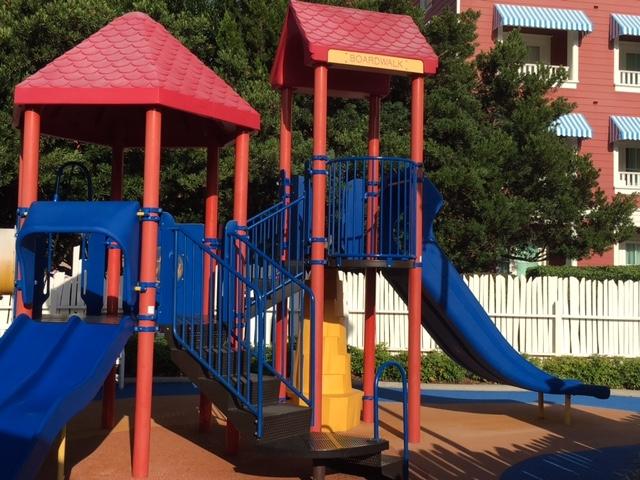 Children's Playground at the Luna Park Pool at the BoardWalk Villas