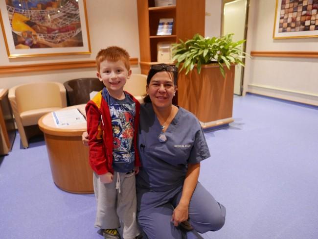 Emerald Princess Nurse at Med Center