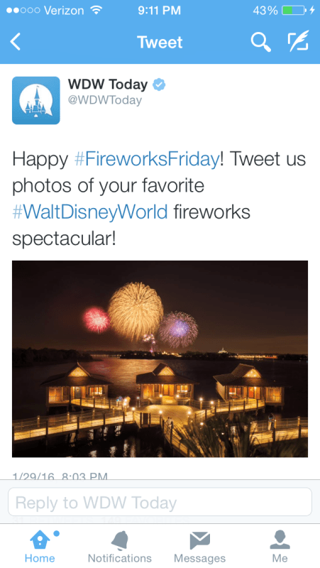 WDWToday Twitter Account