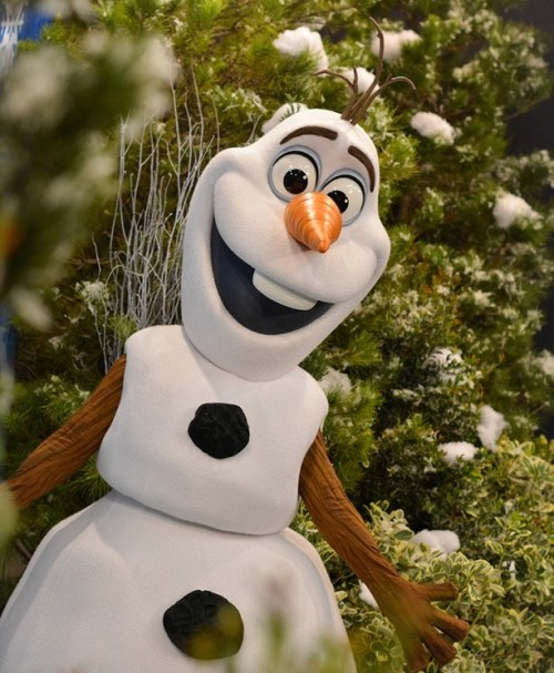 Olaf-Photo Credit Disney