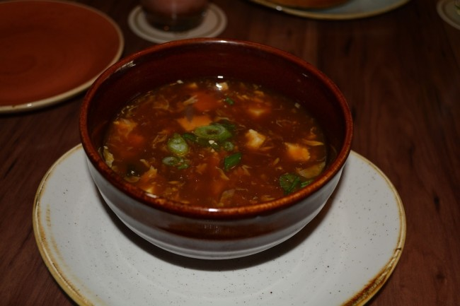 "Ginger ""Croc"" Hot and Sour Soup"