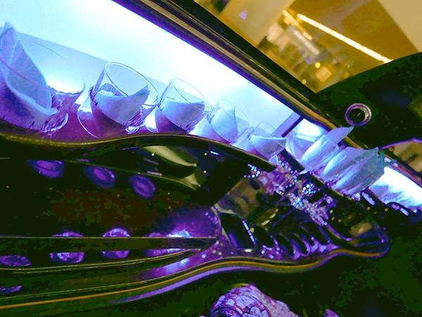 Stretch Limousine Bar Area