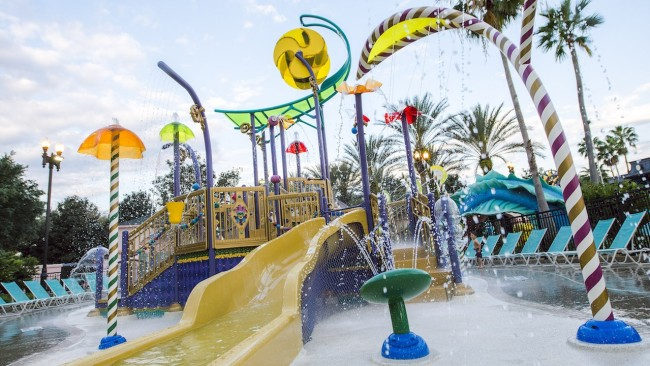 Aquatic Play Area at Disney's Port Orleans French Quarter Resort-Photo Credit Disney