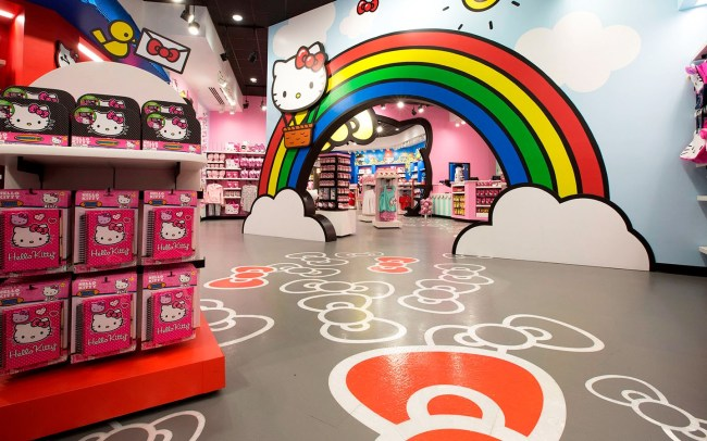 Hello Kitty Shop-Photo Credit The official Blog of Universal Orlando Resort