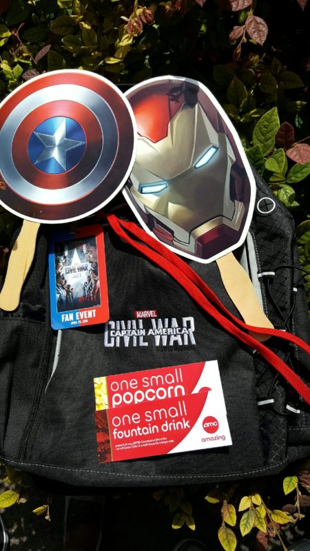 Disney Parks Blog Fan Event- Captain America: Civil War