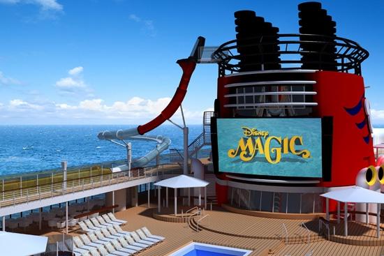 Will the AquaDunk come to the Disney Wonder? (photo courtesy Disney Parks Blog)