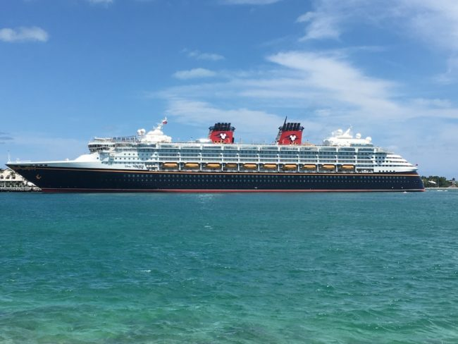 Disney Wonder April 2016