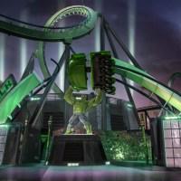 Universal Orlando's Relaunch of The Incredible Hulk Coaster