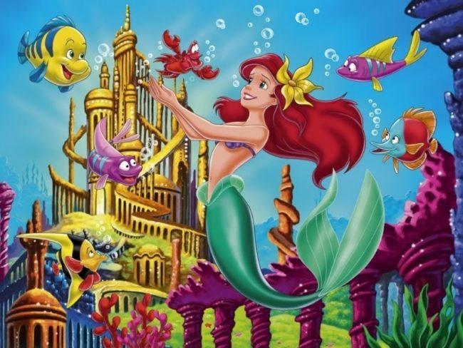 Under the Sea- Photo Credit Disney