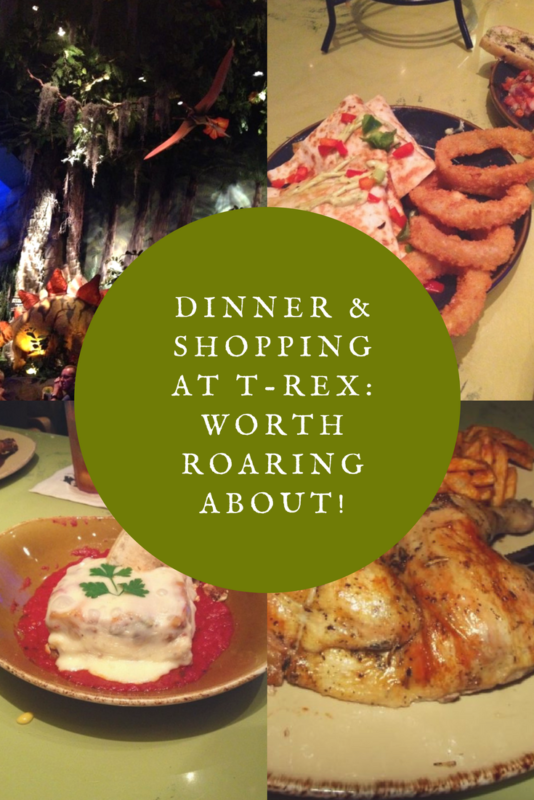 Dinner & Shopping at T-Rex: Worth Roaring About! Photo credit Lisa McBride