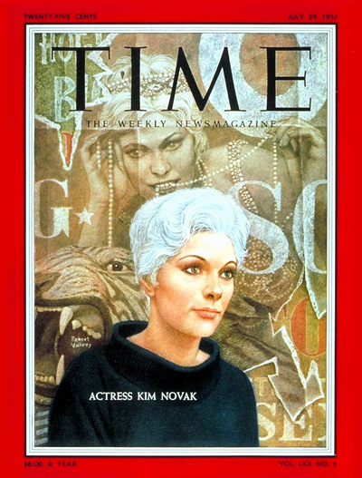 July 29, 1957 Time Magazine Cover