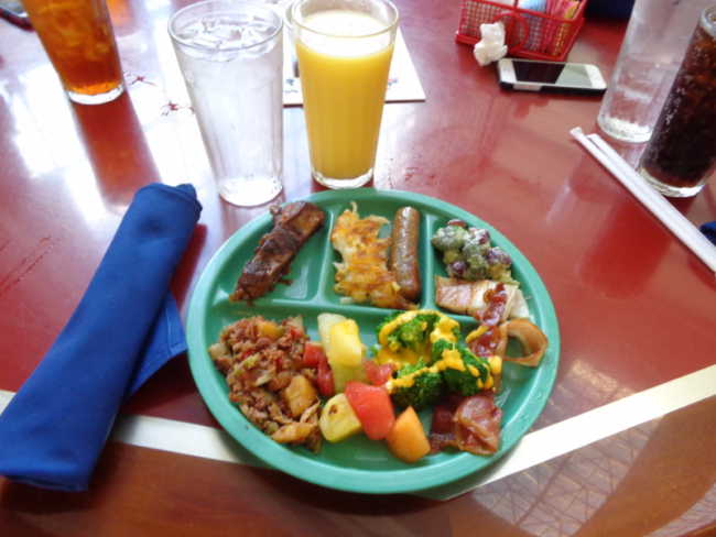 Gluten free dining is available at Chef Mickey's.