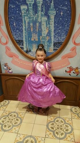 The Pretty Princess Rapunzel
