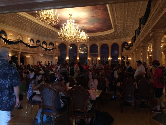 be our guest restaurant: try it all! it's delicious! - magical