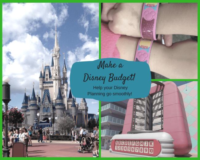 Make a Disney Budget
