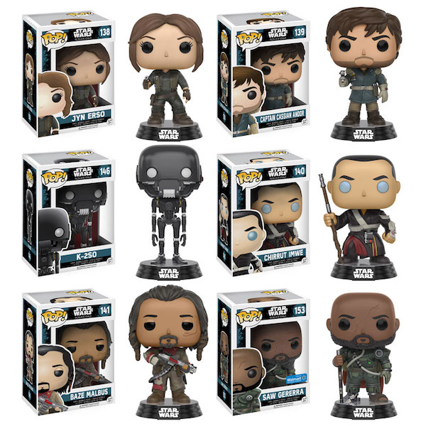 "Funko POP! merchandise for ""Rogue One: A Star Wars Story figurines. Photo by Funko POP!"
