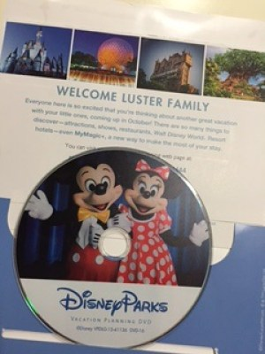 Disney Parks Travel Planning DVD
