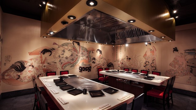 Teppan Edo Large Group Dining