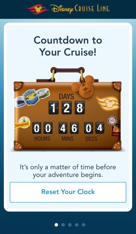 Disney Cruise app - tips for a first-time Disney cruiser
