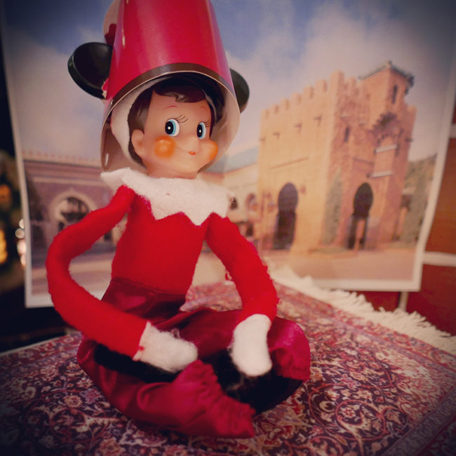 Disney-obsessed-elf-on-the-shelf-morocco-world-showcase